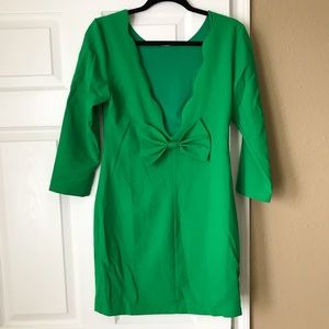 New!!! Green backless now dress